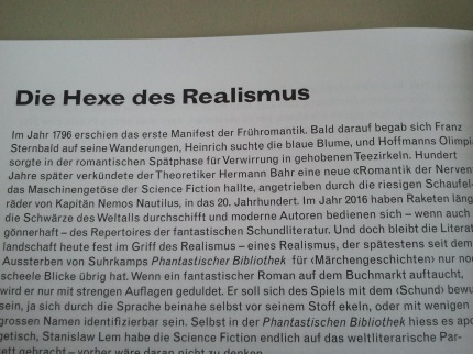 Die Hexe des Realismus